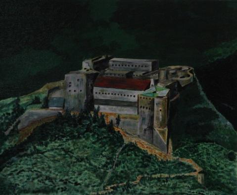 Vagabond Artist Images of Haiti--The Citadel